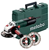 Metabo 600398510 Winkelschleifer W 12-125 Quick +...